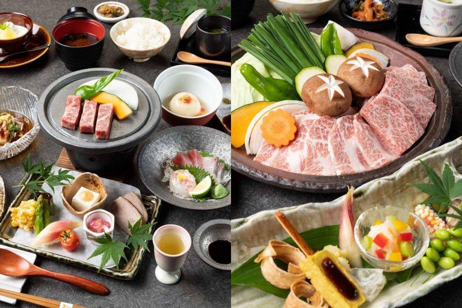 Japanese Kaiseki for the first night, Teppanyaki Kaiseki for the second night ≪2 nights 3 days consecutive night plan≫