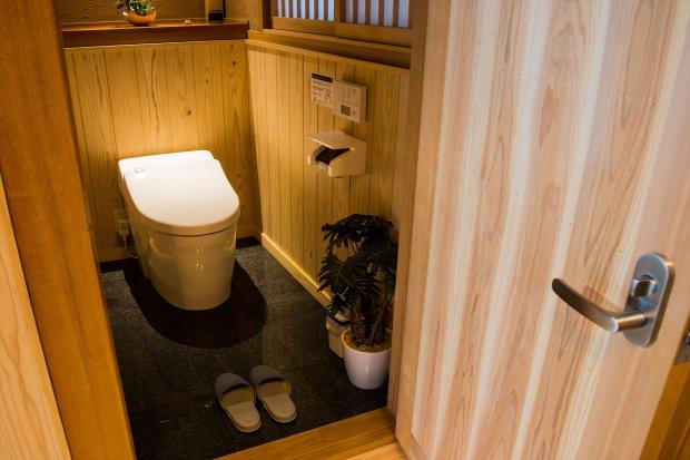 全室ウォシュレットトイレを完備