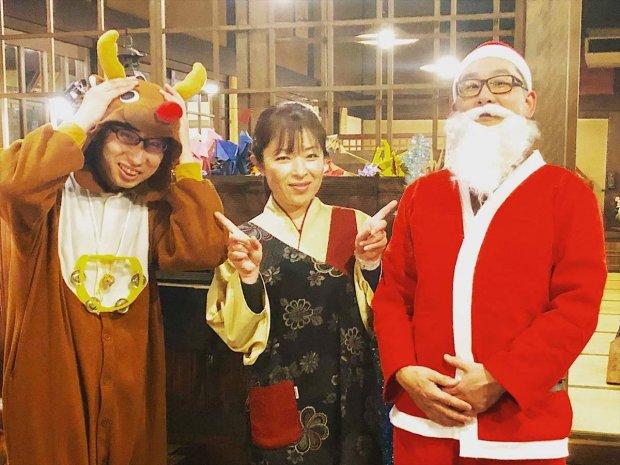 Happy Christmas☆楽しくおもてなし致します(^0^)♪♪♪
